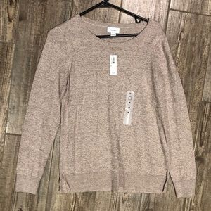 NWT Old Navy Tan Sweater